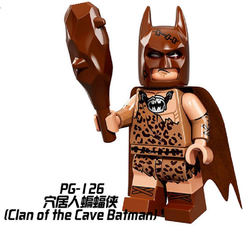 Single Sale Super Heroes Batman Catwoman Robin Bricks Action Figures Building Blocks Children Christmas Birthday Gift Toys PG126
