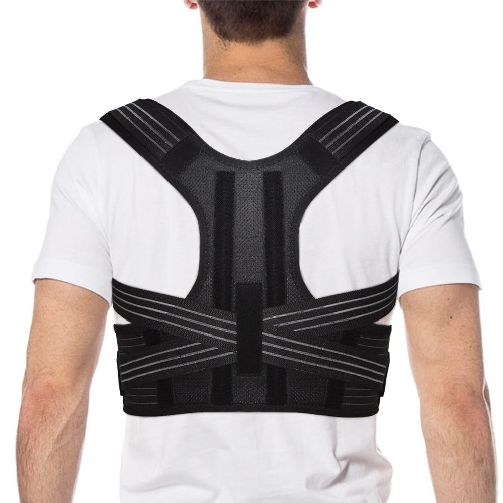 Aptoco Corrector de postura Brace hombro espalda cinturón de apoyo para tirantes Unisex y soporte cinturón hombro postura Dropshipping