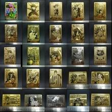 Dragon Ball карты супер металлическая карта ультра инстинкт Гоку джирен экшн игрушки Фигурки издание игры флэш карты коллекция карт