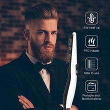 Многофункциональная расческа для волос Выпрямитель бороды электрическая