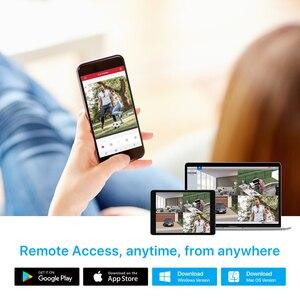 Image 5 - H.View 4K 울트라 HD 비디오 감시 키트 8MP poe ip 카메라 세트 8CH 돔 보안 카메라 CCTV 시스템 H.265 오디오 레코드 Nvr