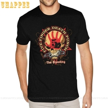 T-Shirts Short-Sleeves Oversized Funny Five-Finger-Death Punk-Band Rock-N-Roll Basic-Style