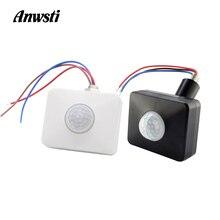 12V Motion Sensor 220V 110V PIR Infrared Automatic Movement Detector Timer DC Outdoor Light Switch for LED Bulb Lamp