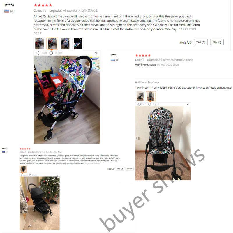 Wandelwagen Kap & Matras Voor 175 Yoya Baby Troon Oxford Doek Terug Met Mesh Zakken Yoya Kinderwagen Accessoires Kussen Voor yoyo