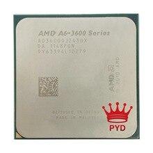 AMD A6-Series A6-3600 Quad-Core 2.1Ghz 65w FM1 905-pin CPU AD3600OJZ43GX