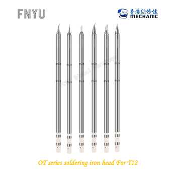 MECHANIC OT series integrated electric iron tip soldering iron nozzle T-I T-IS T-TI T-TIS T-SK T-2.4D For T12 series t audel
