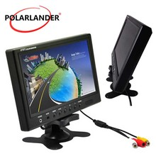 9 zoll TFT LCD 16:9 Auto Monitor 2 Weg video eingang Rück Monitor für VCD/DVD/GPS/auto Reverse Kamera