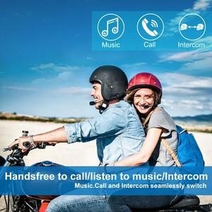 Image 4 - Fodsports M1 S Proหมวกกันน็อกIntercomหมวกกันน็อกรถจักรยานยนต์ชุดหูฟังบลูทูธ8 Riders 2000M Group Intercom BT Interphone