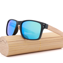 Retro Unisex Square Sunglasses UV400 Polarised Driving Plast