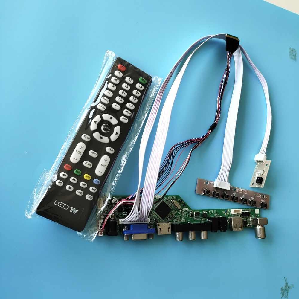 Kit for LP173WD1 TV+HDMI+VGA+AV+USB LCD LED screen Controller Driver Board