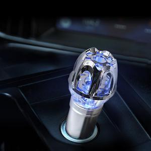 Image 4 - Purificador de ar do carro 12v auto carro purificador de ar fresco iônico barra oxigênio ozônio ionizador mais limpo carro ambientador accessries