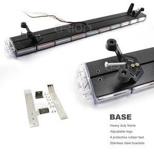 """Image 3 - 29 """" 63"""" COB led acil durum uyarı ışıkları kurtarma LightBar Wrecker yanıp sönen işaret ışığı çakarlı lamba çubuğu Amber"""
