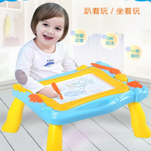 Multi-Function Big Size Painting Graffiti Board Toys ABS Material Magnetic Educational Write&Drawing Board Desk Toy For Children
