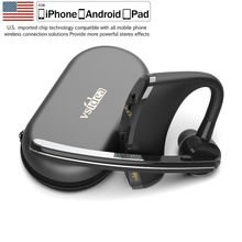 Vsidea 8 Business Bluetooth Headset Fast Charging Driver Handsfree Earphone with Mic Noise Cancelling Headset For IOS Android