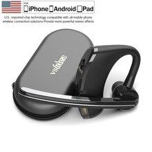 Vsidea-8 negócios bluetooth fone de ouvido de carregamento rápido motorista handsfree fone com microfone cancelamento ruído para ios android