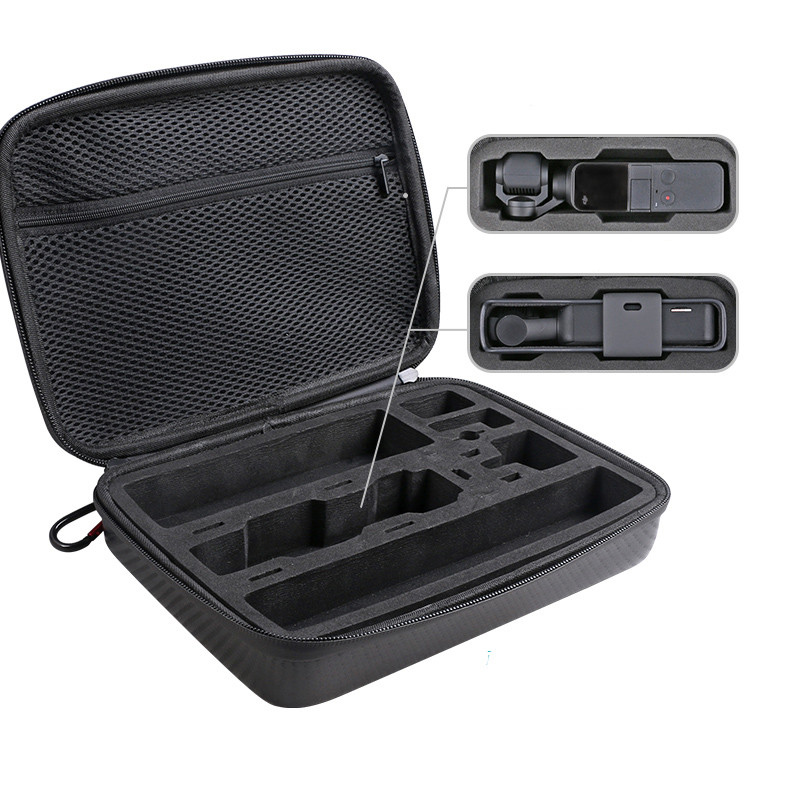 Multifunction Osmo Pocket Portable Case Bag With Filter Storage Spare Parts Box For Dji Osmo Pocket Camera Accessories