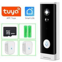 Smart Tuya WiFi campanello 1080P videocitofono HD videocamera di sicurezza Wireless chiamata di casa campanello IR visione notturna Baby Monitor