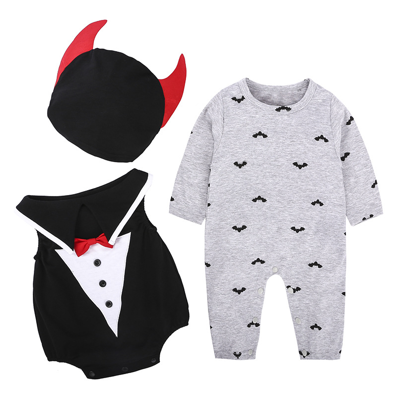Party-Costume Bodysuits-Hat Toddlers Rompers Halloween Girls Infant Baby Boys 3-24-Months