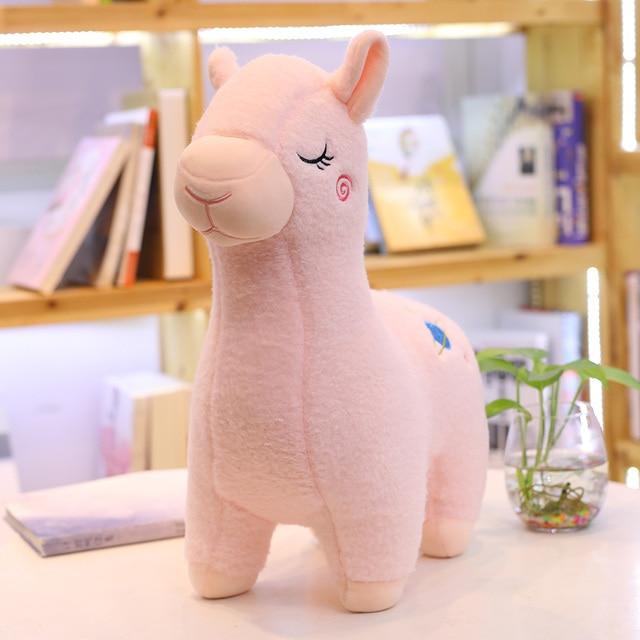 1pc Alpaca Plush Sheep Toy Soft Plush Alpacasso Baby 100% Plush Stuffed Animals Alpaca Gifts for kids