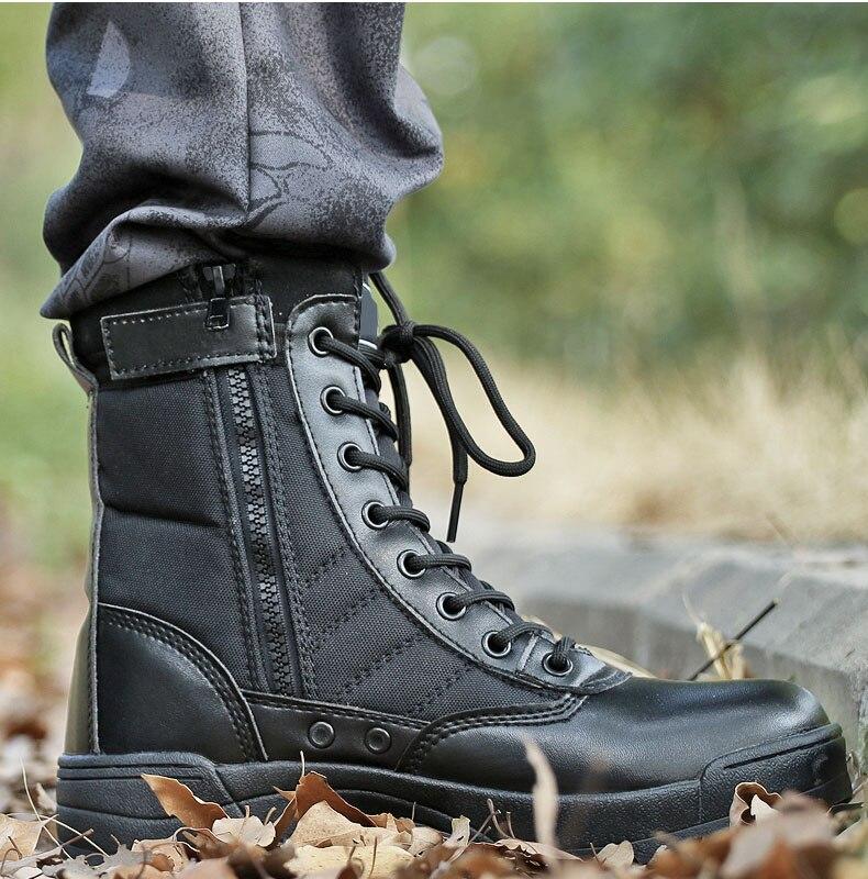 de couro à prova dwaterproof água sapatos
