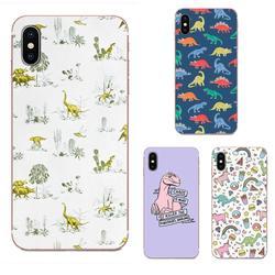 На Алиэкспресс купить чехол для смартфона soft capa for huawei honor mate nova note 20 20s 30 5 5i 5t 6 7i 7c 8a 8x 9x 10 pro lite play kawaii dinosaurs pattern