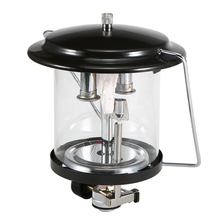 Potable Outdoor Camping Double Mantle Butane Gas Lantern Lamp Light With Piezo Lighter Tent Lamp Picnic Hiking Camping Lamp