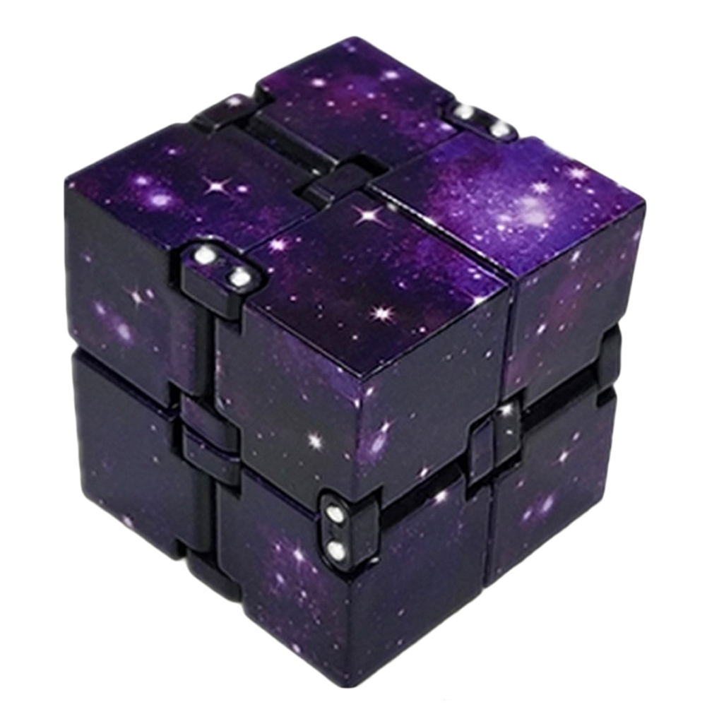 Mini Infinite Cube Toys For Relieving Stress Anxiety Suitable For Children Adult Fun Cube Decompression Toys(China)