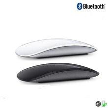 Bluetooth Drahtlose Magic Mouse 2 Stille Wiederaufladbare Laser Computer Maus Dünne Ergonomische PC Büro Mause Für Apple Mac Microsoft