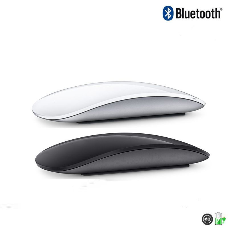 Bluetooth Wireless Magic Mouse 2 Silent Rechargeable Laser Computer Mouse Thin Ergonomic PC Office Mause For Apple Mac Microsoft