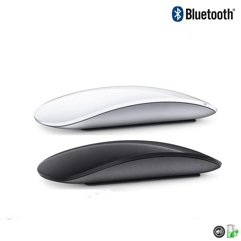 Bluetooth беспроводная Волшебная мышь 2 Бесшумная перезаряжаемая Лазерная компьютерная мышь тонкая эргономичная компьютерная офисная мышь для...