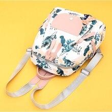 цены Fashion Women Girls School Bags Backpack Casual New Printing Shoulder Bags Oxford Cloth Waterproof Backpack Mochila Feminina