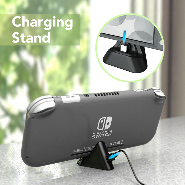 Charging Dock for Nintendo Switch Lite With Type-C Port