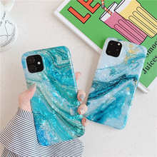 Glitter Marble Case For iphone 11 Pro Max Case Soft TPU Back Cover For iphone 6 6S 7 8 Plus X XR XS Max Conch Silicone Cover new iphone case for iphone 11 for iphone11 pro max 5 8 inches 6 1 inches 6 8 inches 6 6s 7 8 plus ix xr max x fashion back cover