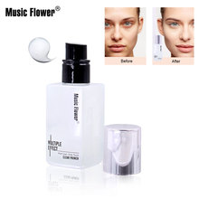 Music flower water soft focus moisturizing makeup before milk touch refreshing texture Primer Makeup Base Cream