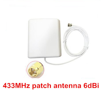 OSHINVOY 433MHz patch antenna 433M SMA panel antenna outdoor 433M data transmitting patch antenna