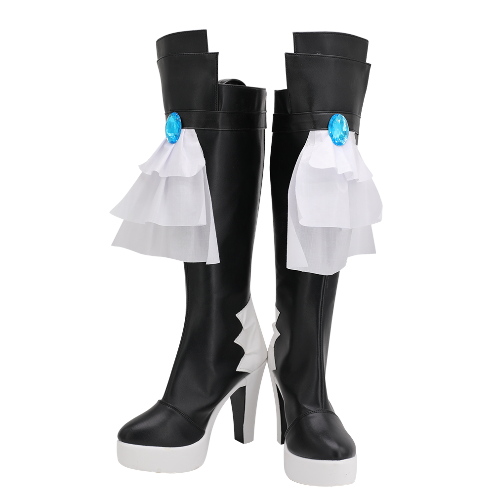 Final Fantasy 14 Gaia Cosplay Boots High Heel Shoes Custom Made for Unisex (2)