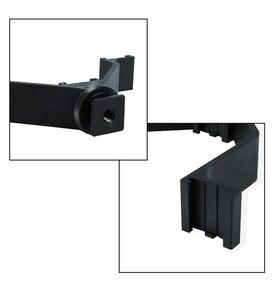 Image 4 - Viltrox VL 125 125mm DSLR Triple Hot Shoe V Mount Flash Bracket for Video Lights Microphones Monitors to Cameras Camcorders