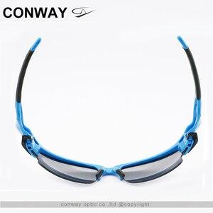 Image 4 - كونواي ريترو ساحة نظارات رياضية النظارات الشمسية PC مرآة العلامة التجارية تصميم نظارات في الهواء الطلق مكافحة وهج التكتيكية قناع عين 9102