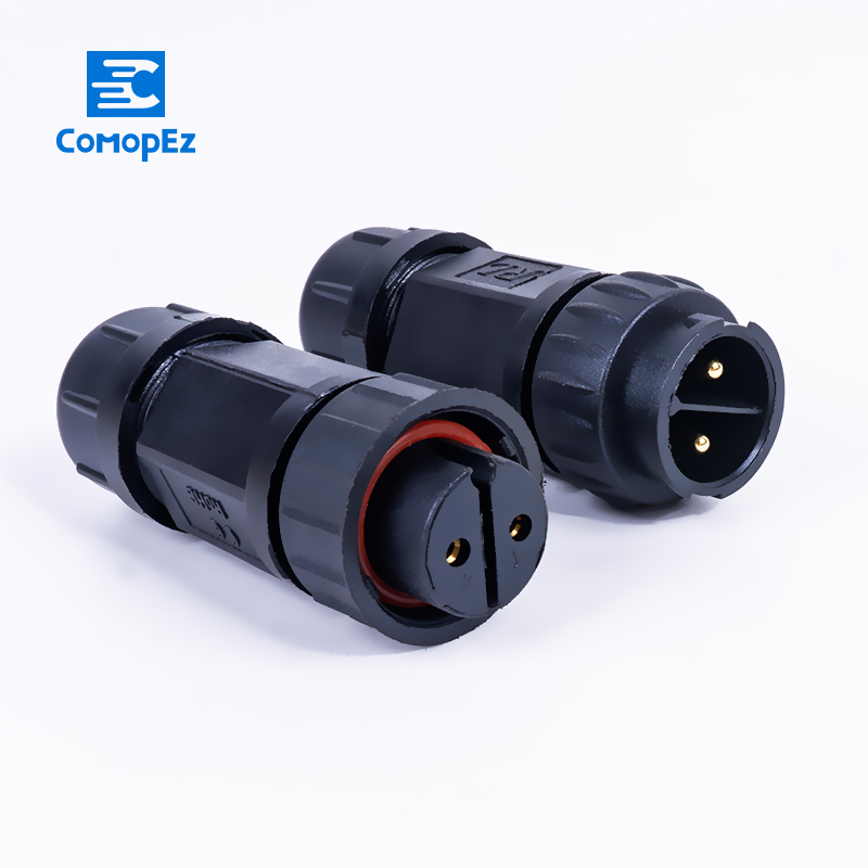 M19 Assembled Waterproof Electrical Cable Connector 1.5-10mm Plug Socket IP68 2 3 4 5- 10Pin Connectors For Security Equipment