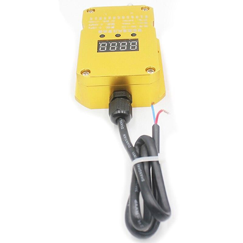 Saída Do Sensor De Pressão Diferencial Transmissor de Pressão do vento 4 20Ma Fã Pipeline de Pressão Positiva e Negativa do Forno - 2