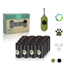 Pet-Waste-Bags Trash-Cleaning-Supplies Dispenser Biodegradable Eco-Friendly Practical