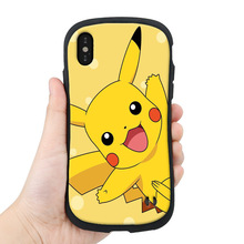 Soft Silicone Phone Case For iPhone 7 8 Plus XS MAX XR Cute Cartoon Anime Case C