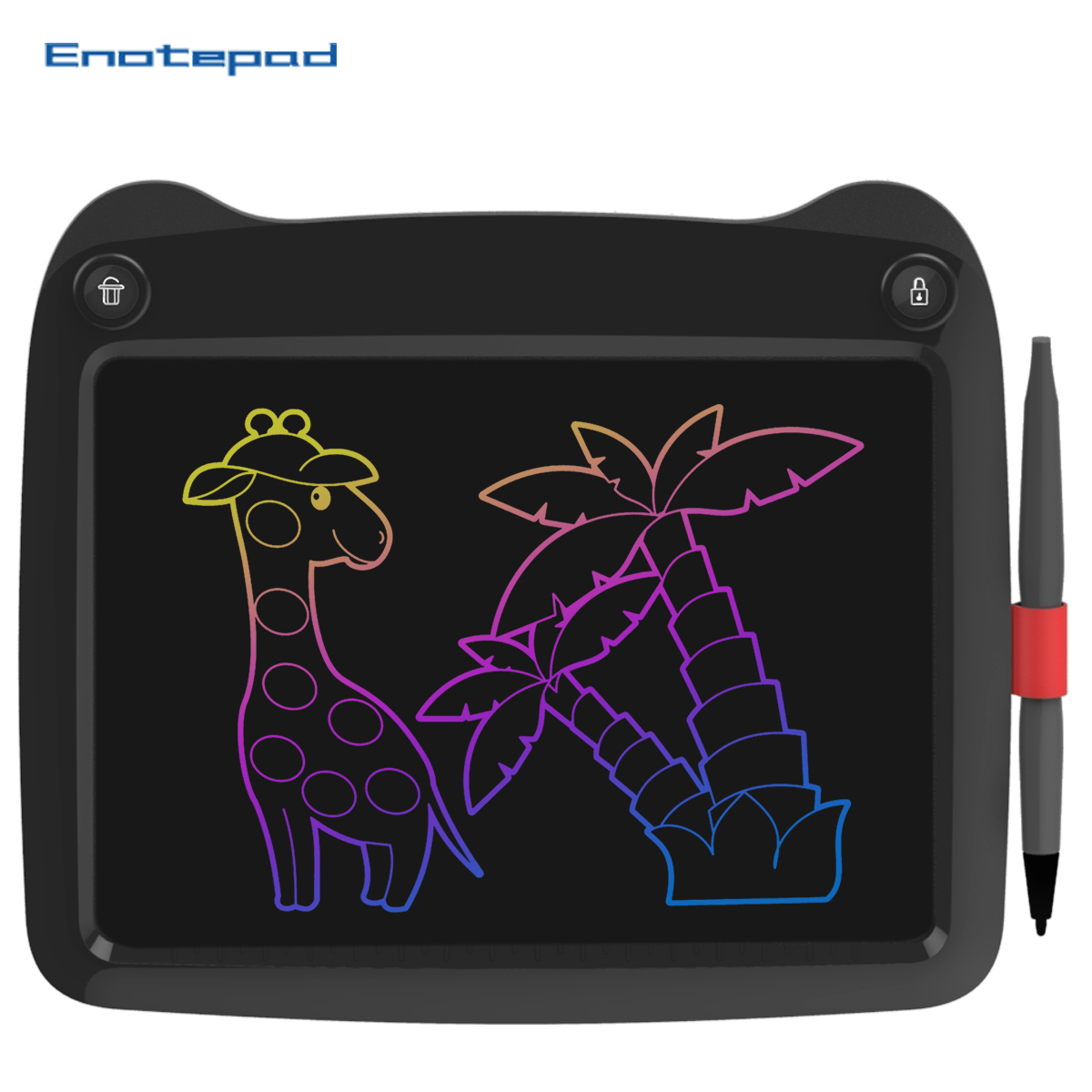 Enotepad 9 Inch Lcd Writing Portable Smart LCD Writing Tablet Electronic Handwriting Pad graphics tablet pen lcd eraser