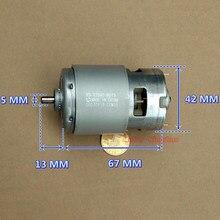 MABUCHI – perceuse et tournevis à couple élevé RS-775VC-8015 W cc 12-20V 18V 208 tr/min, grande vitesse, grande puissance, moteur d'outils de jardin, 18200