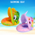 Kids Baby Inflatable Swim Ring Float Seat Cartoon Swimming Seat with Sunshade Awning Fun Pool Toys for Swimming Pool Bathtub