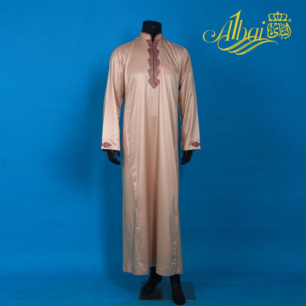 Kaftan Ropa Arabe Islamic Thobe /Muslim Robe Dishdasha / Loose Robes Middle East Solid Men Jubba