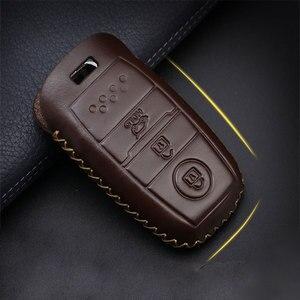 Image 3 - Coche accesorios, llave cubierta caso araba aksesuar para Hyundai IX45 Santa Fe (DM) 2013, 2014, 2015, 2016 3 botones clave Shell
