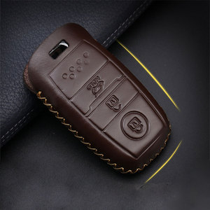Image 3 - car accessories key cover case araba aksesuar For Hyundai  IX45 Santa Fe (DM) 2013 2014 2015 2016 3 buttons Auto Key Shell