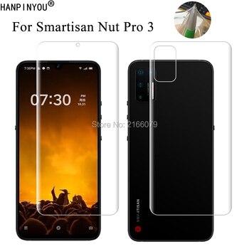 Перейти на Алиэкспресс и купить Для Smartisan Nut Pro 3 Pro3 6,39 дюймпрозрачный ТПУ/матовый анти-отпечатки пальцев гидрогель полное покрытие мягкая защитная пленка для экрана (не стекло