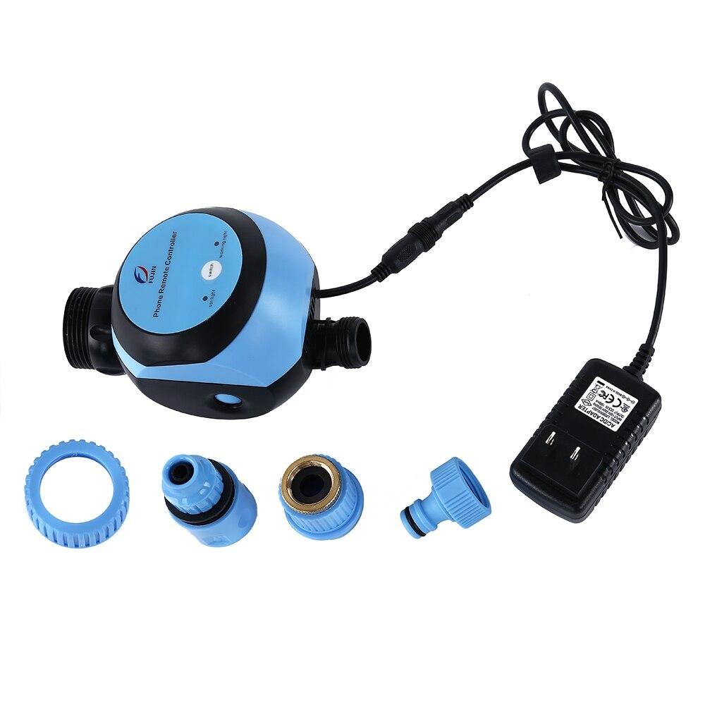 Automatische Intelligente Elektronische Wasser Timer Smart Phone Remote Garten Bewässerung Controller Bewässerung System Magnetventil